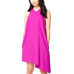 Vibrant Asymmetrical Dress